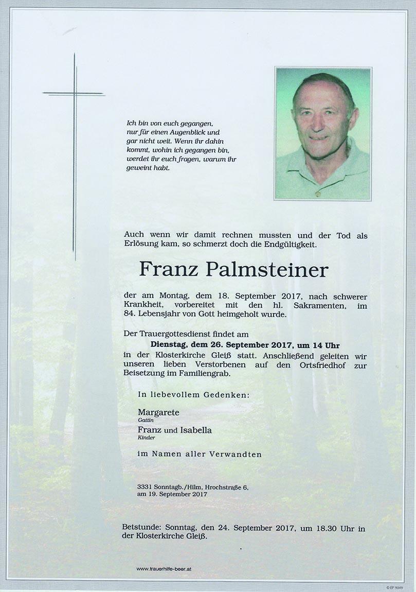 Franz Palmsteiner