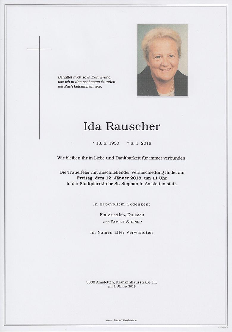 Ida Rauscher