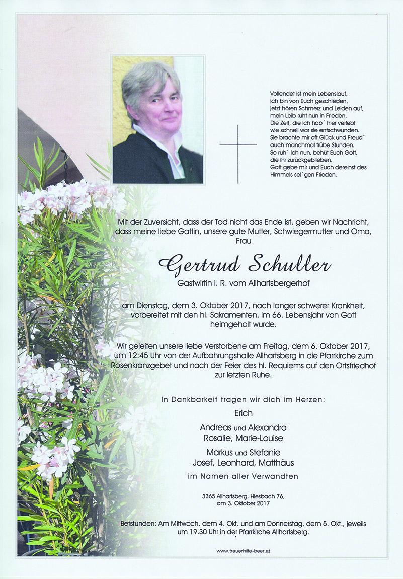 Gertrud Schuller