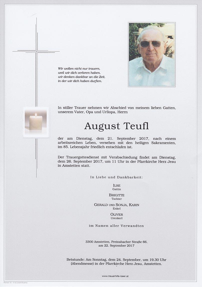August Teufl