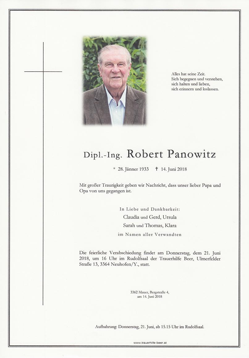Dipl.-Ing. Robert Panowitz