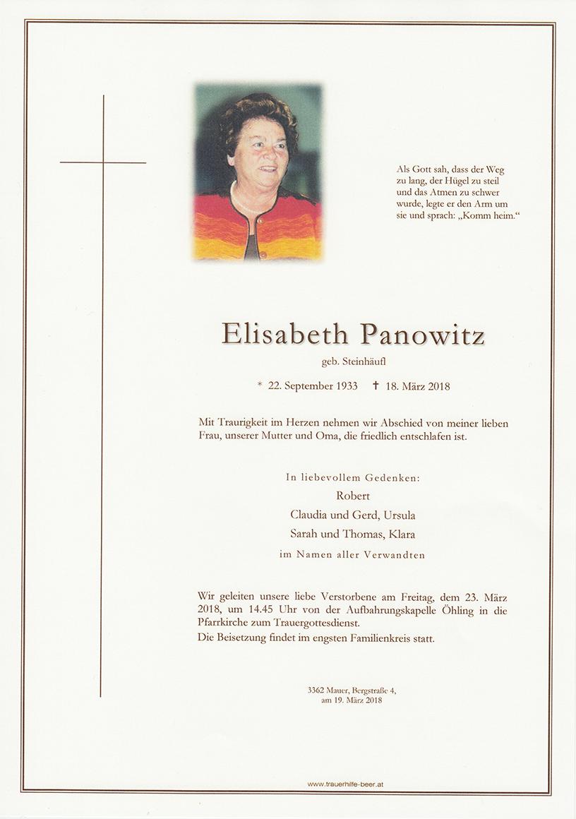 Elisabeth Panowitz