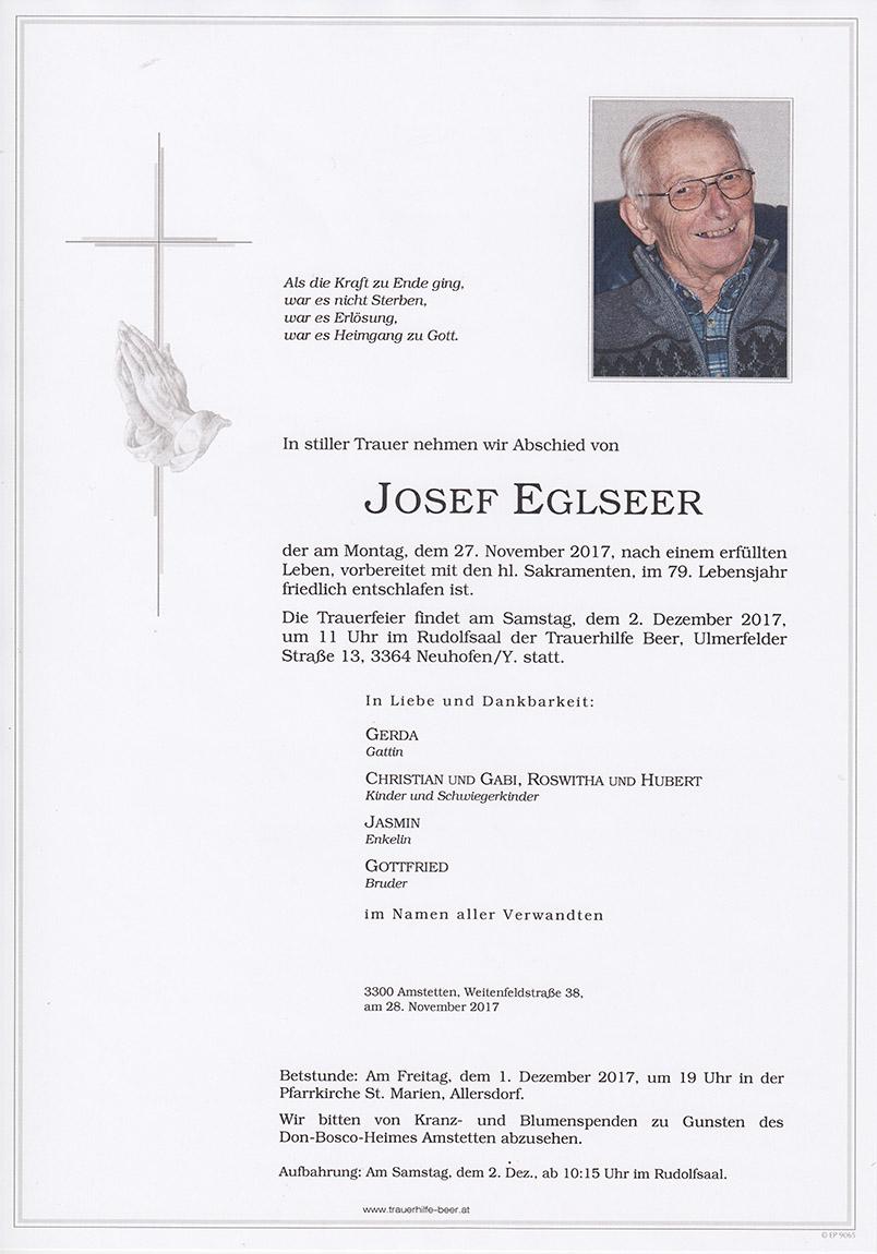 Josef Eglseer