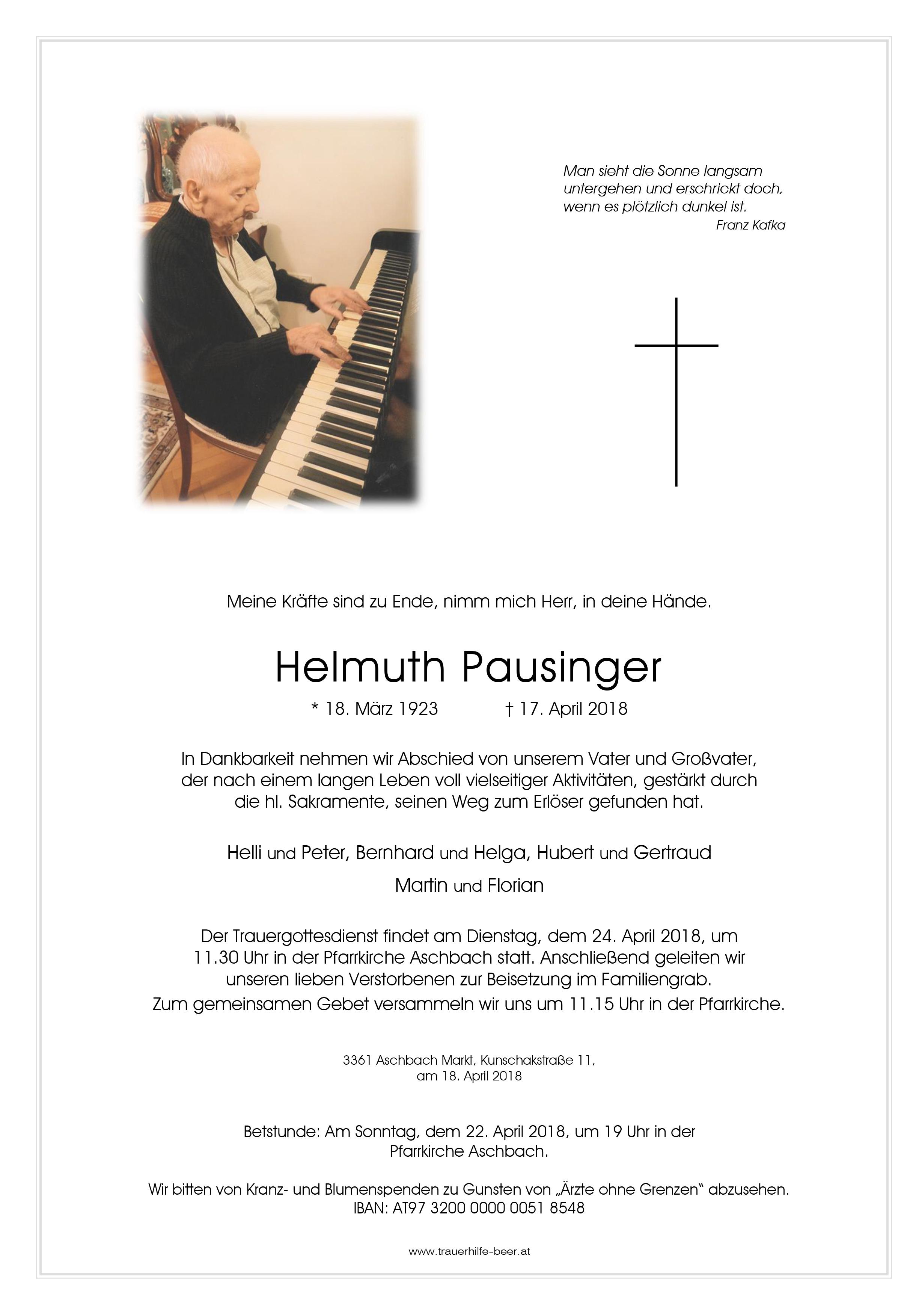 Helmuth Pausinger