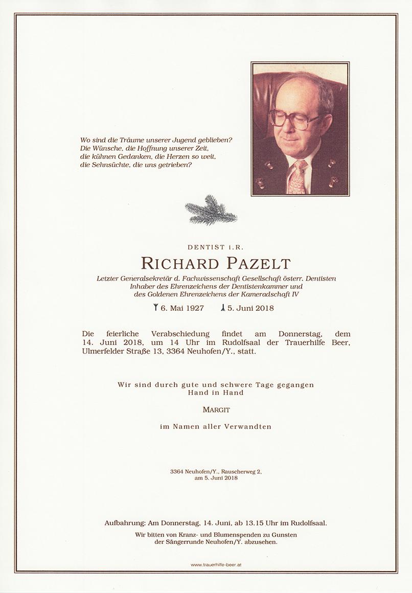 Richard Pazelt