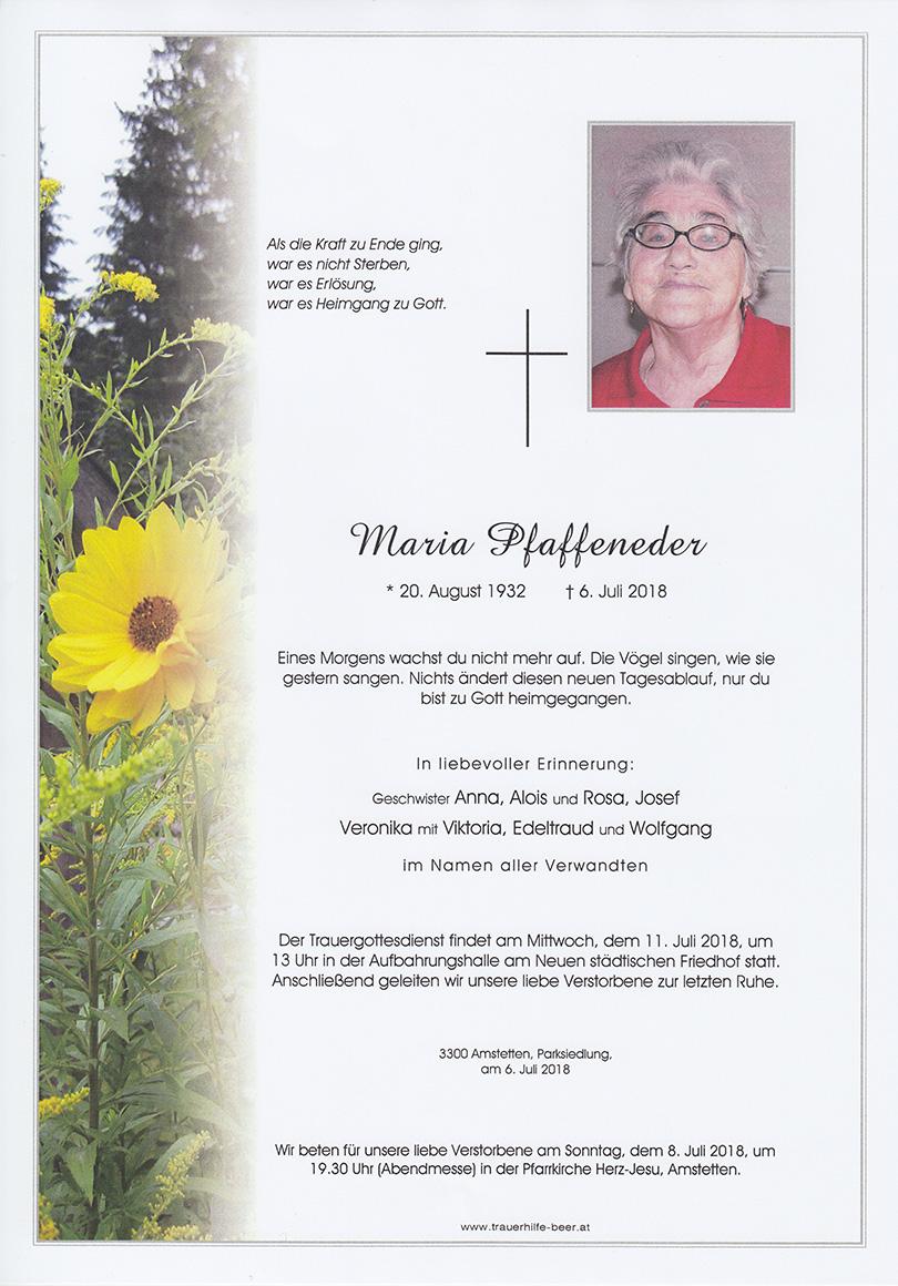 Maria Pfaffeneder