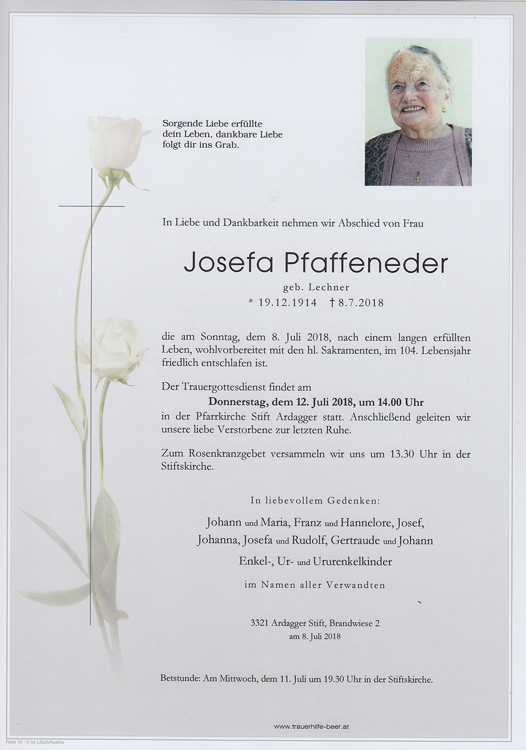 Josefa Paffeneder