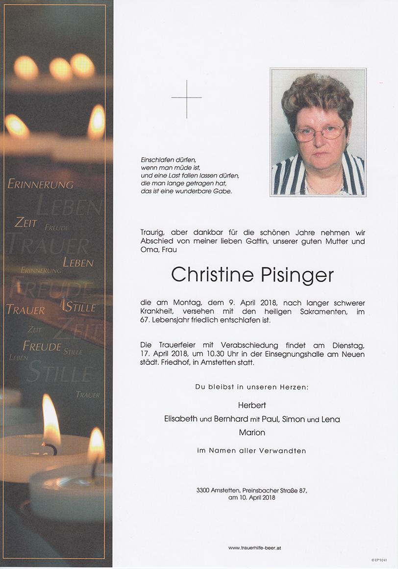 Christine Pisinger
