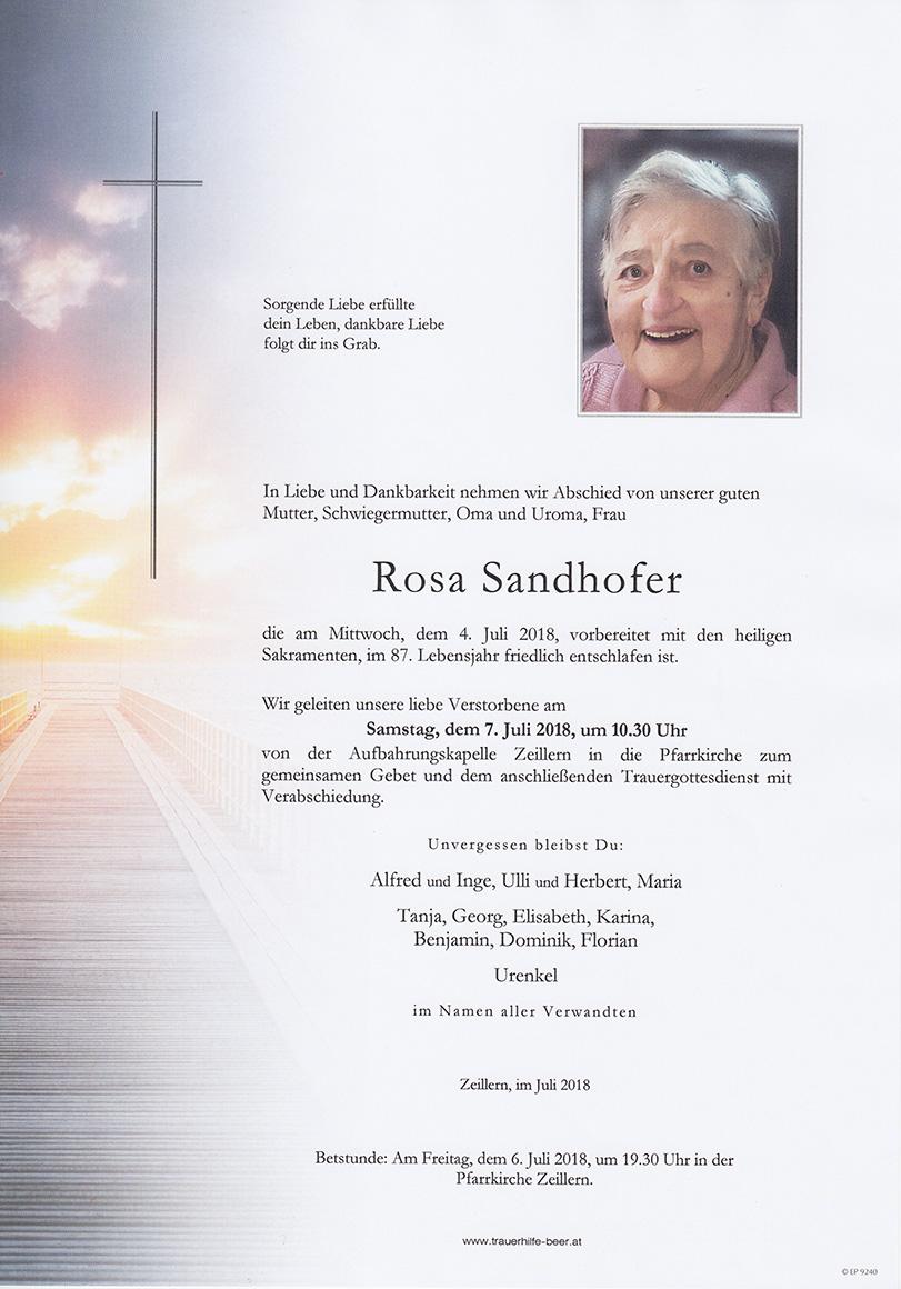 Rosa Sandhofer
