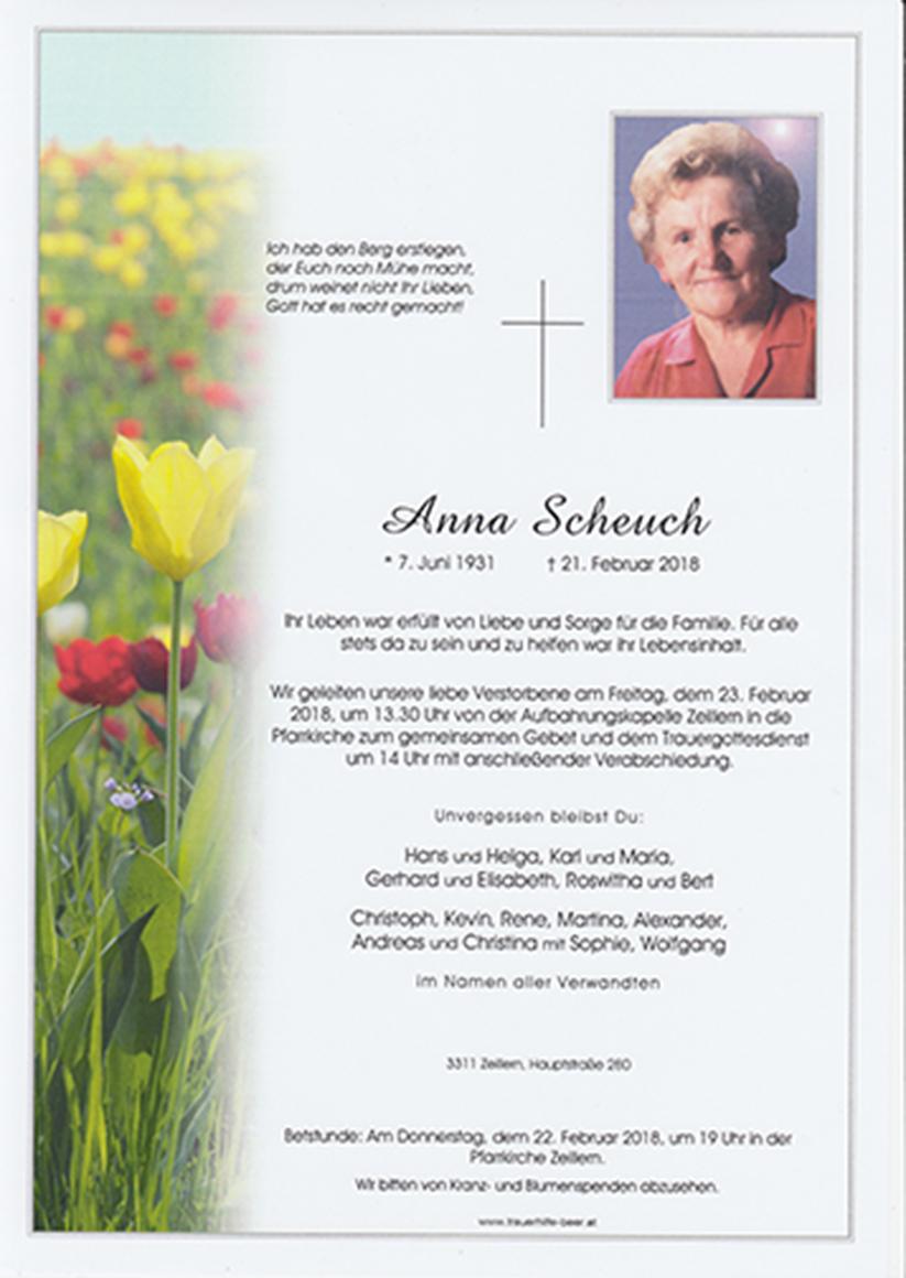 Anna Scheuch