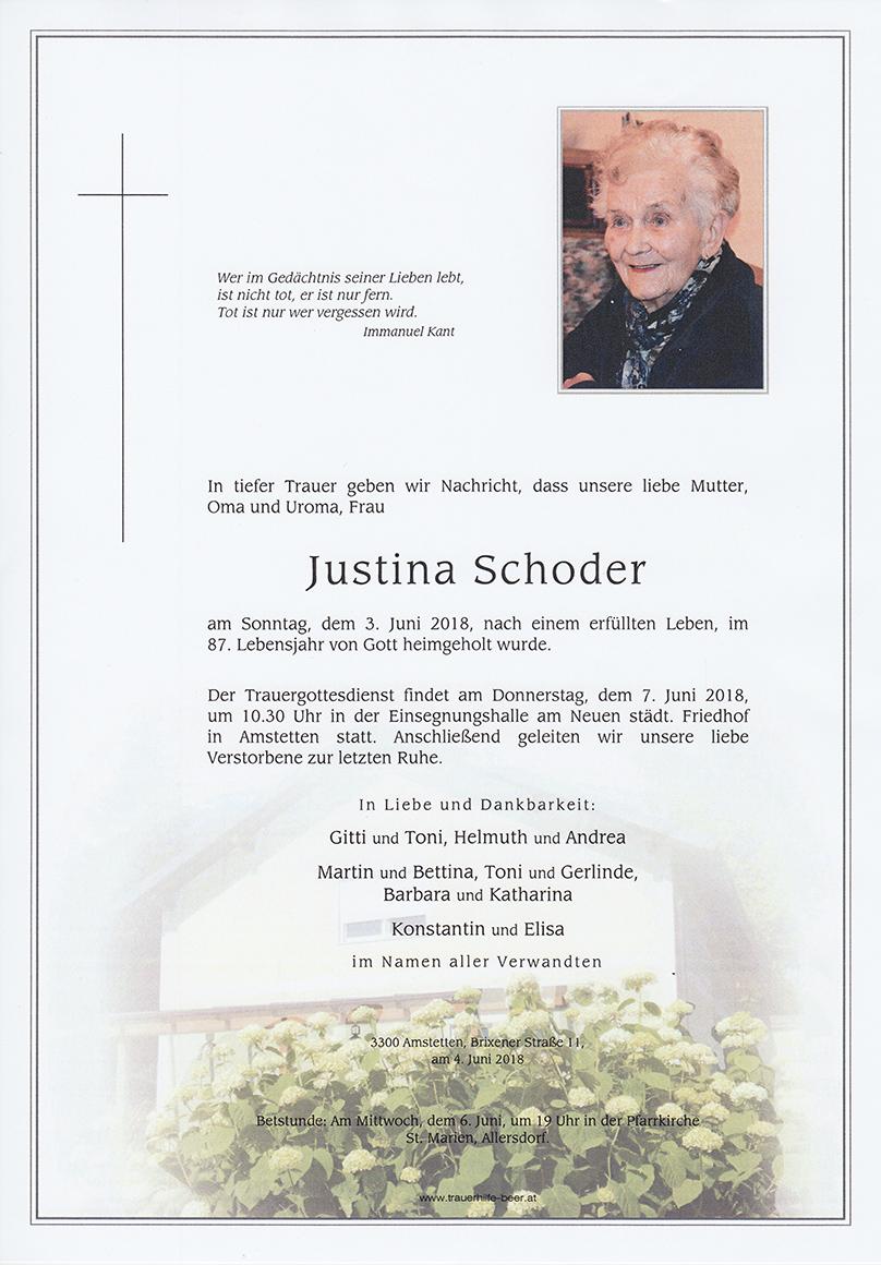 Justina Schoder