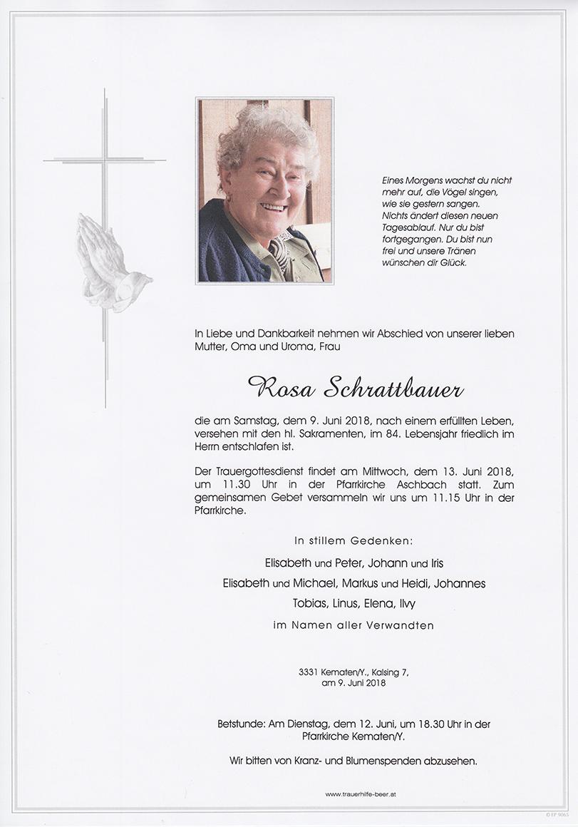 Rosa Schrattbauer