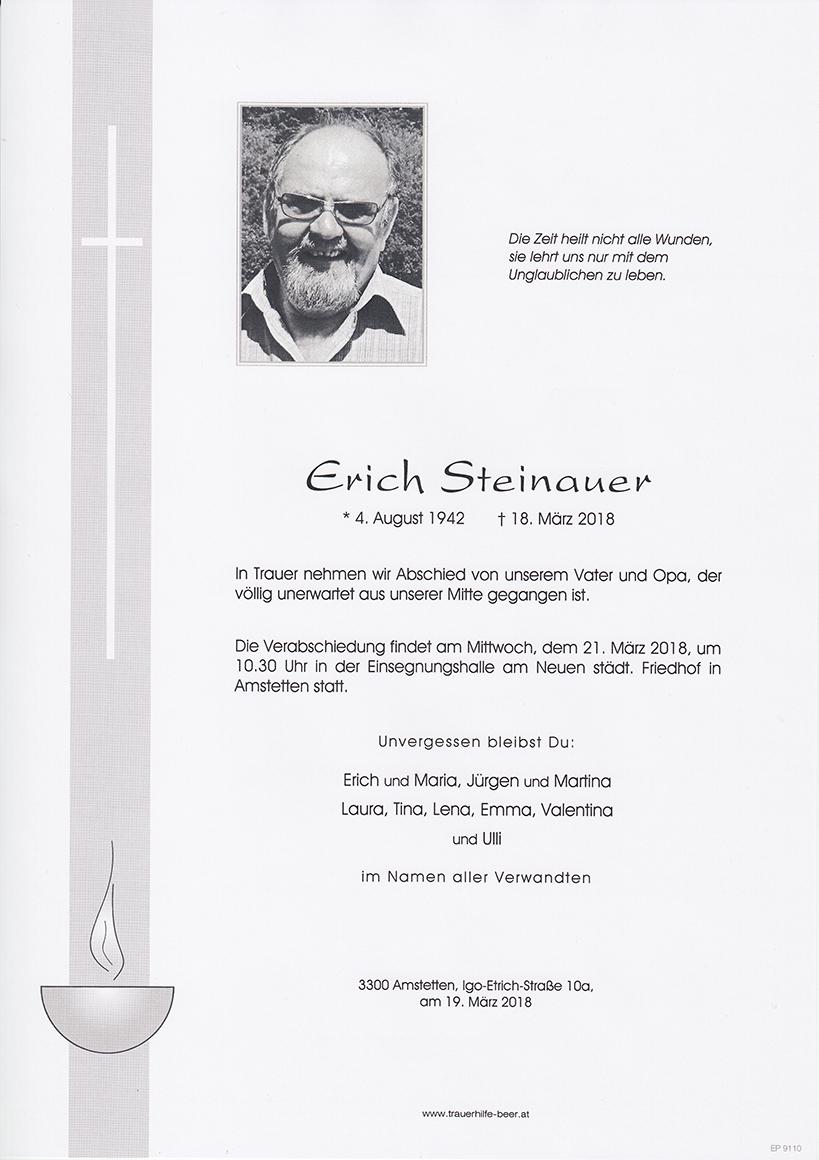 Erich Steinauer