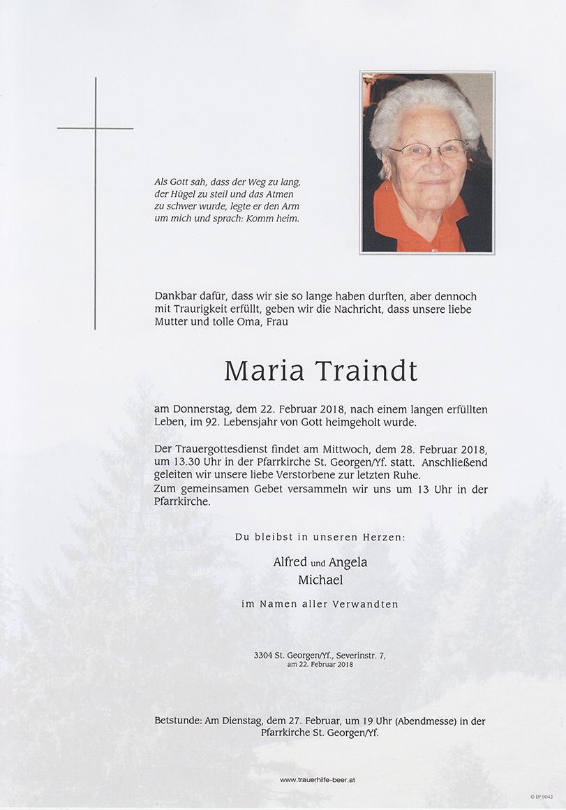 Maria Traindt
