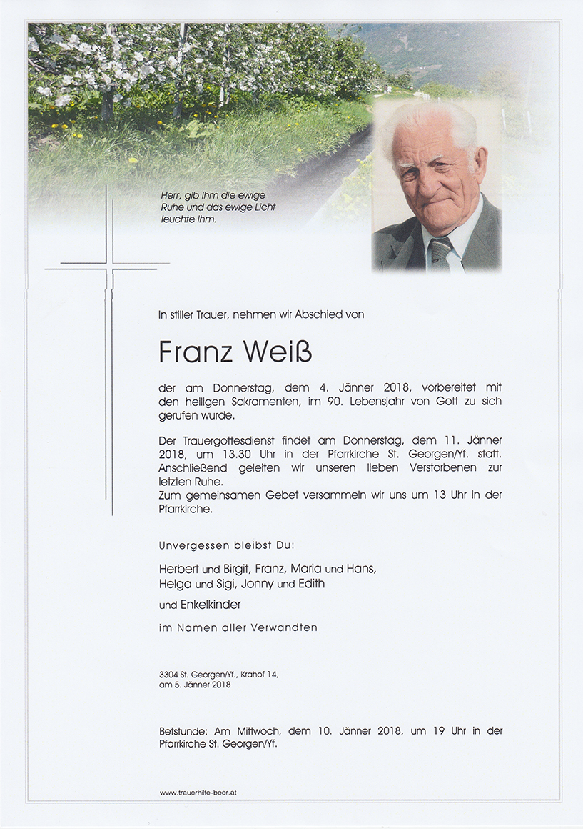 Franz Weiß