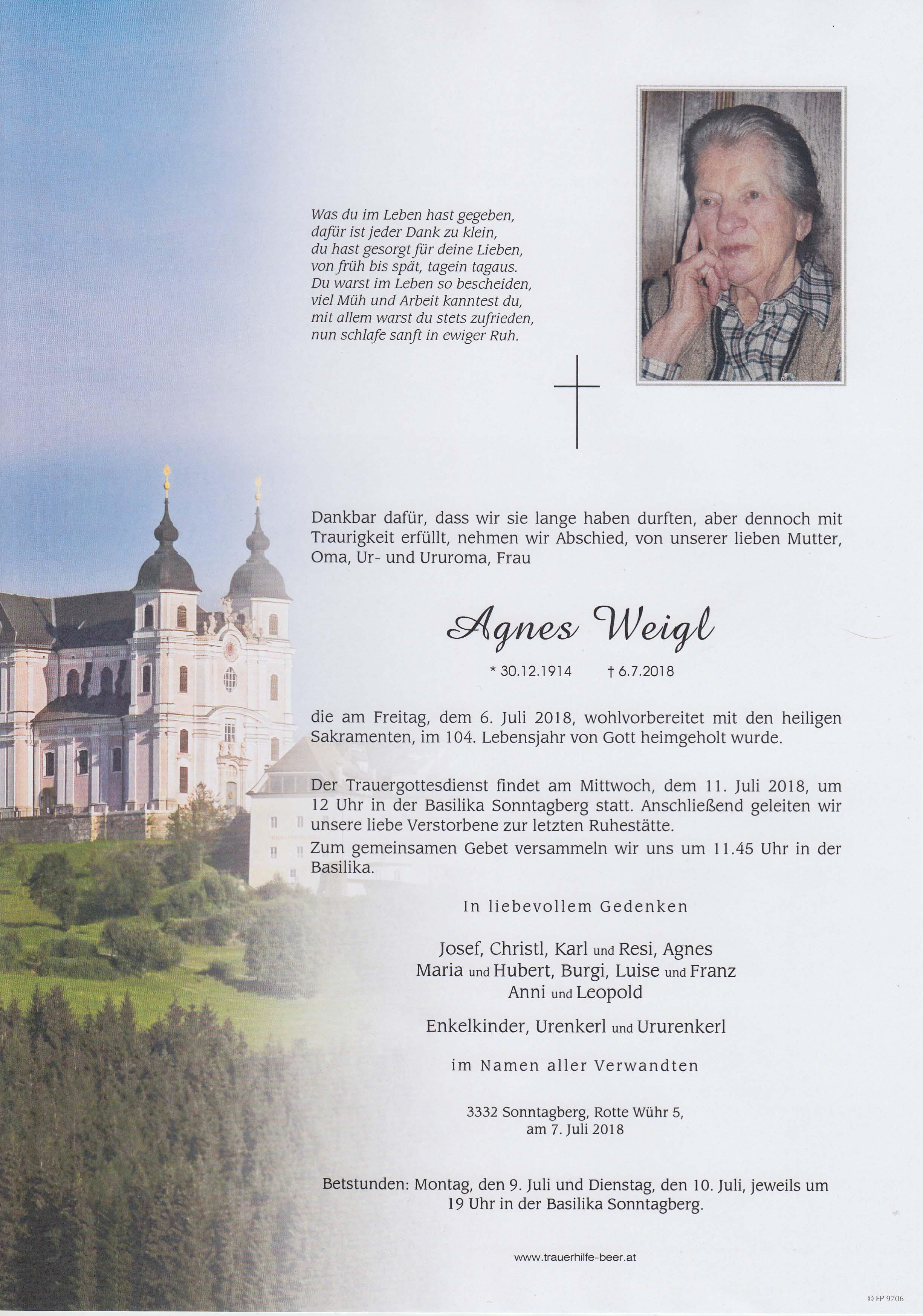 Agnes Weigl