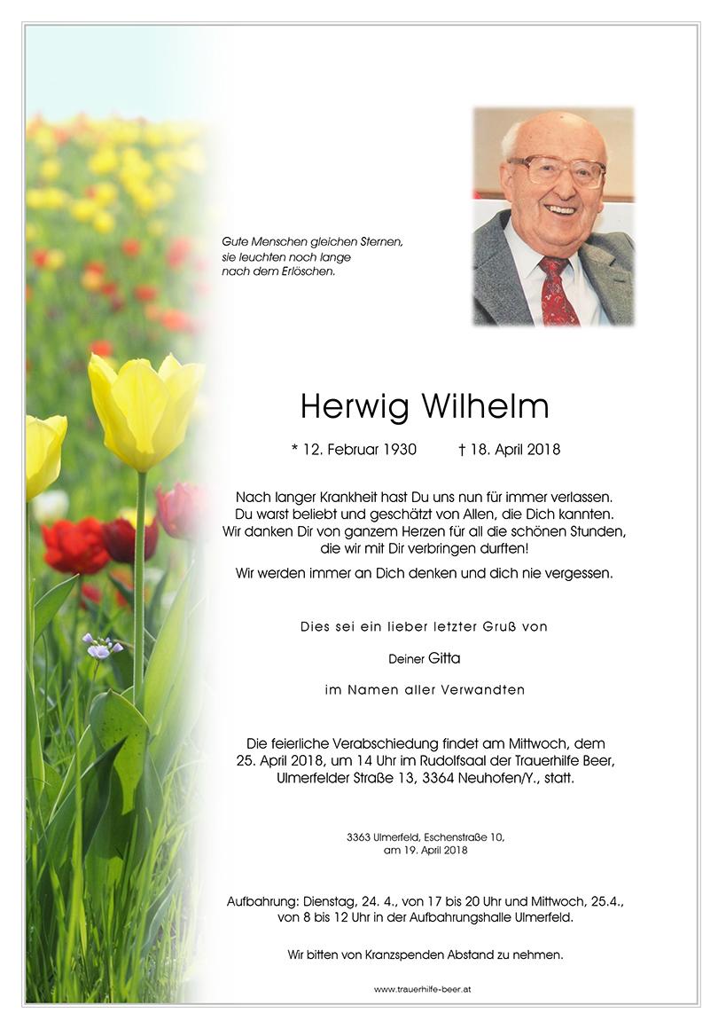 Herwig Wilhelm