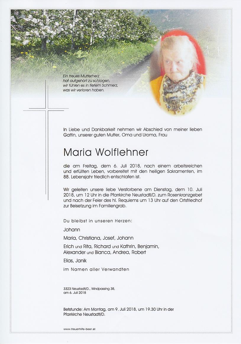 Maria Wolflehner