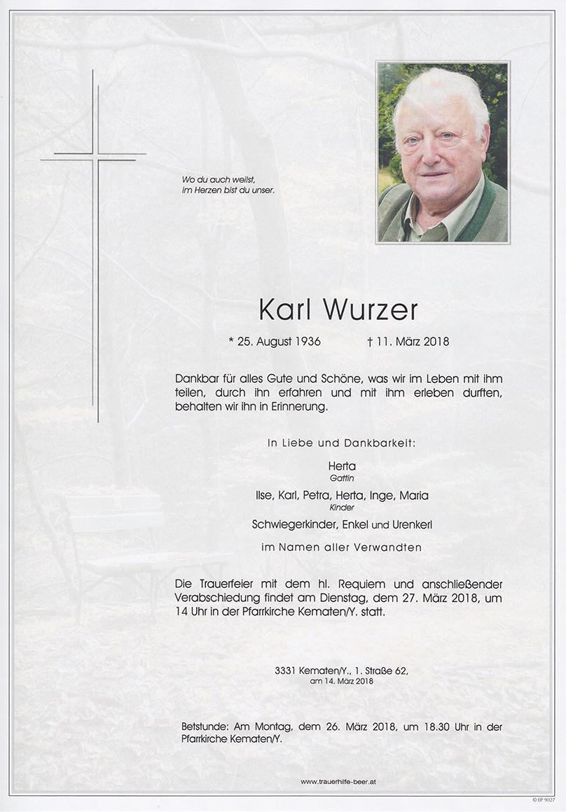 Karl Wurzer