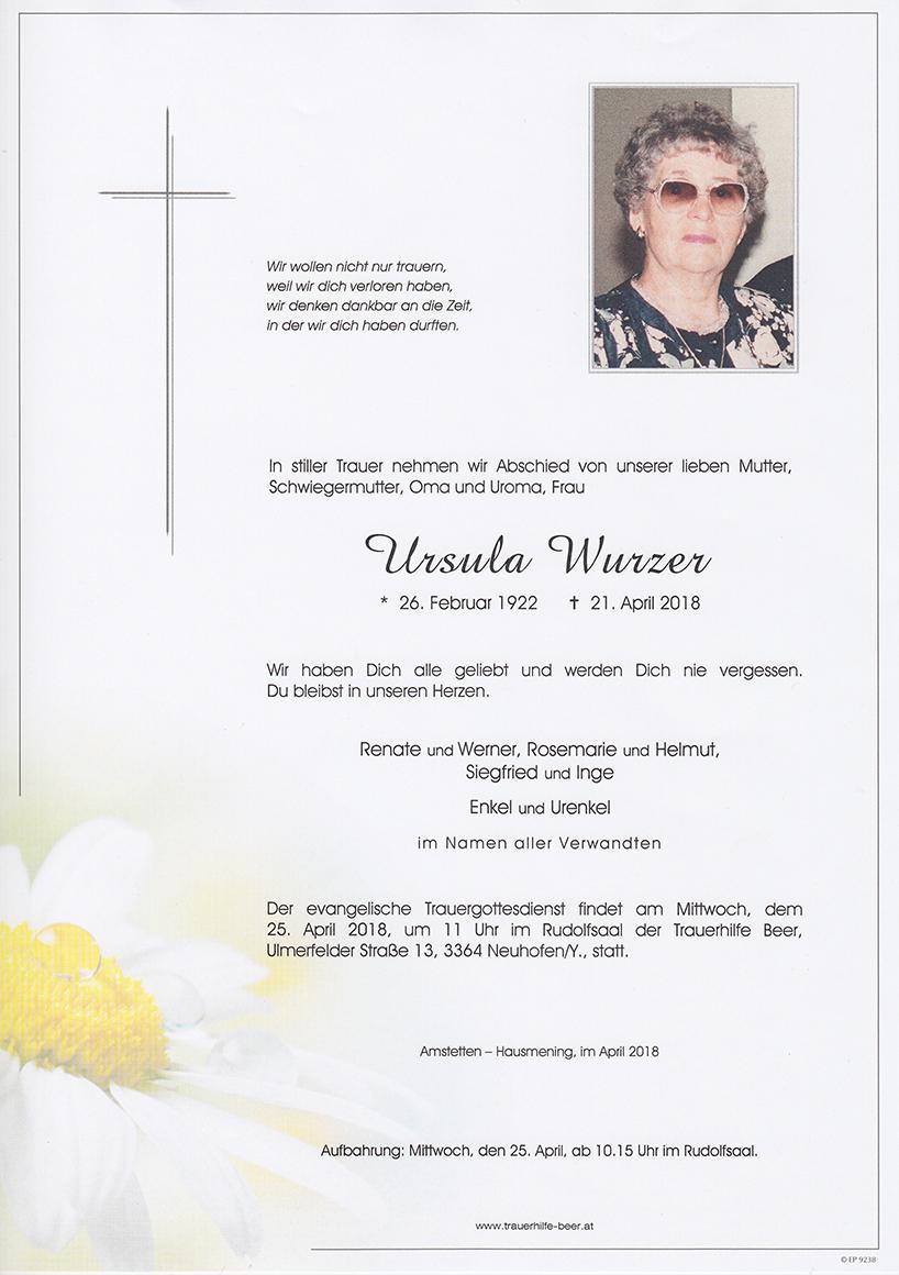 Ursula Wurzer