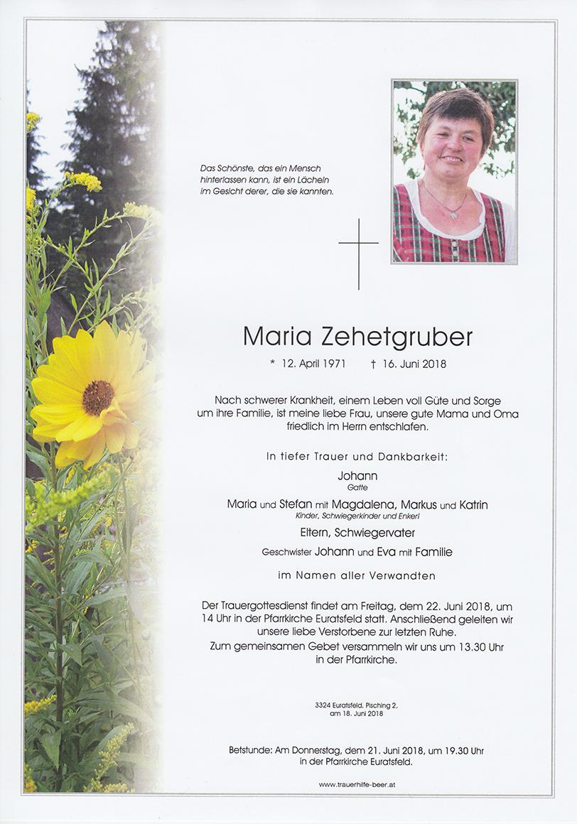 Maria Zehetgruber