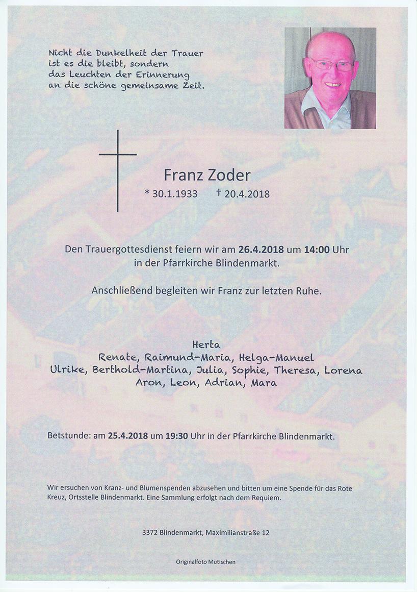 Franz Zoder