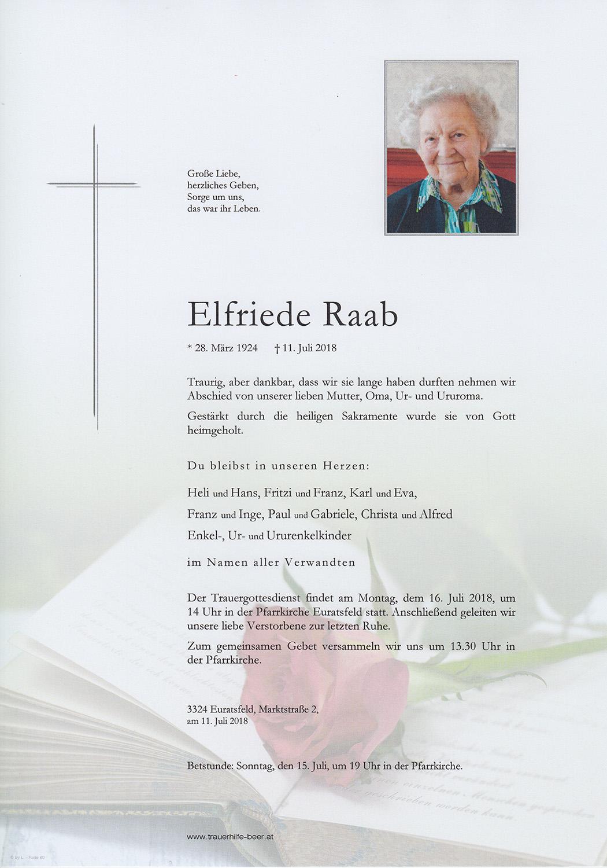 Raab Elfriede